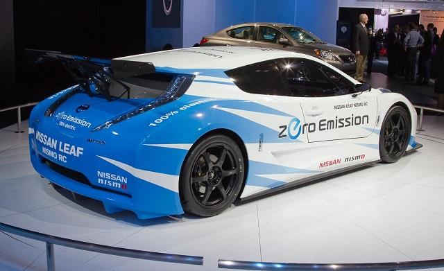 2018 nissan leaf nismo. exellent 2018 2018 nissan leaf nismo concept rear view on nissan leaf nismo