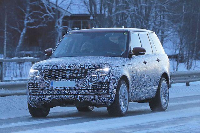 2018 Range Rover Sport PHEV front
