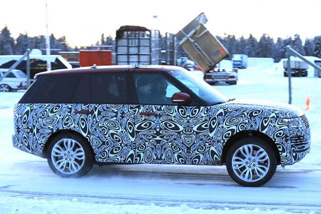 2018 Range Rover Sport PHEV side