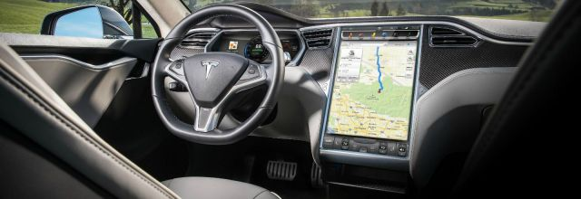 2018 Tesla Model Y interior