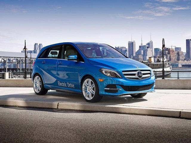 Mercedes benz b class electric drive range battery for Mercedes benz b class range