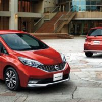 2018 Nissan Note Hybrid front