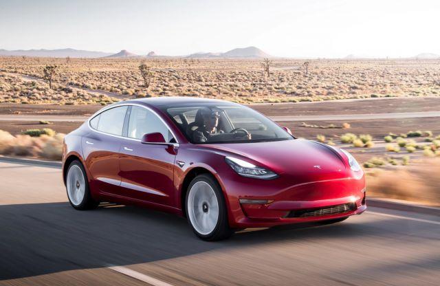2018 Tesla Model 3 Long-Range Version - 2018-2019 New ...